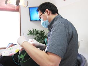 インプラント定期検診の写真