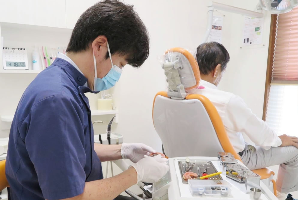 歯科技工士インタビュー